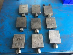 Hip High Pressure Valve Lot Of 33 Used As Is Untested 316 Ss 60 15hf9 60p 12hf9r