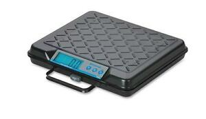 Salter Brecknell Gp250 Digital Bench Parcel Shipping Scale 250lbx0 5lb brand New