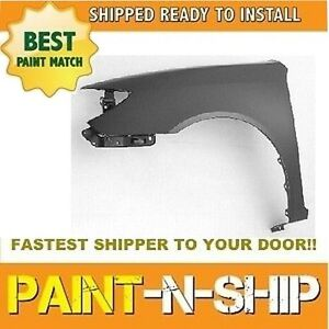 New 2007 2008 2009 2010 2011 Toyota Camry Left Fender Painted to1240211