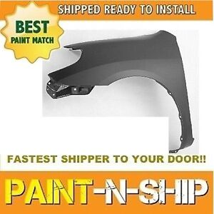 2003 2004 2005 2006 2007 2008 Toyota Matrix Left Fender Painted To1240191
