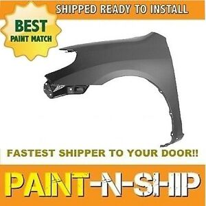 New 2003 2004 2005 2006 2007 2008 Toyota Matrix Xr Left Fender Painted To1240196