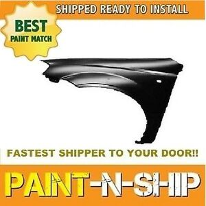 New 2004 2005 2006 Chevy Aveo Left Fender Painted gm1240317