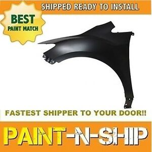 New 2007 2008 2009 2010 2011 2012 Mazda Cx7 Left Fender Painted Ma1240156