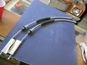 64 65 66 67 Chevelle Gto Rear Parking Brake Cables
