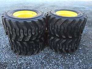 33x15 5 16 5 Skid Steer Tires Rims wheels 33x15 50 16 5 bossgrip For Caterpillar