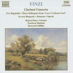 Gerald Finzi : CLARINET CONCERTO CD (1998) Highly Rated eBay Seller Great Prices