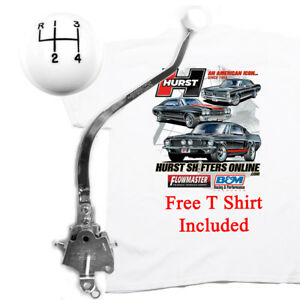 Hurst Classic Comp Plus 4 Speed Shifter 1965 1970 Mopar B Body Free T Shirt