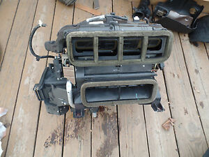 2005 Honda Accord Oem Complete Heater Box Heater Core Assembly With Pigtails