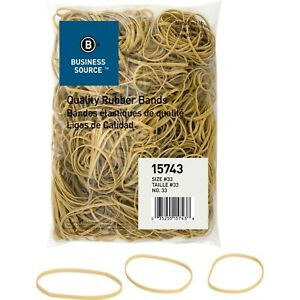 Rubber Bands Size 33 3 1 2 X 1 8 X 1 32 Inches Business Source 15743 1 Pound