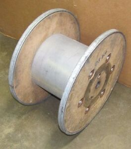 Steel Wood Cable Wire Reel Spool 22 Dia X 13 1 4 Width Lot Of 20