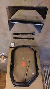 New Cab Door Enclosure Kit For Caterpillar 216 226 236 246 252 262 Skid Steer