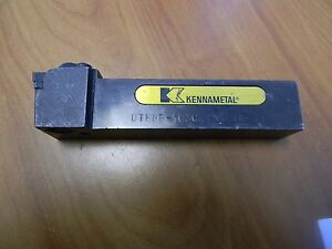 Kennametal Indexable Lathe Tool Holder Dtfnp 163c Ins Tn 33 1 x1 Shank 5 Oal
