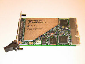 National Instruments Pxi 6071e Ni Daq Card Multifunction 1 25ms sec Analog Input