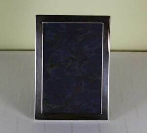 Sterling Silver Photo Frame Narrow Plain