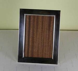 Quality Sterling Silver Photo Frame Wide Plain