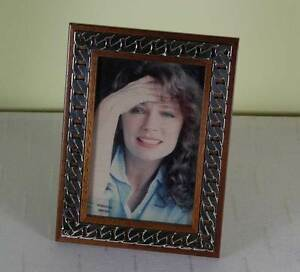 Fine Quality Sterling Silver Wood Photo Frames