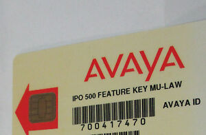 Avaya Ip 500 V1 Feature Card 700417470 Preferred Edition Voice Mail Pro Small