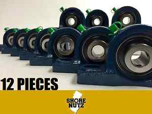 12 Pieces 1 1 2 Pillow Block Bearing Ucp208 24 Solid Foot P208