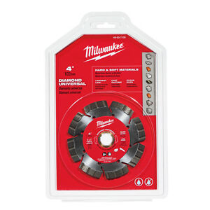 Milwaukee 49 93 7100 4 In Diamond Universal Segmented turbo Saw Blade In Stock