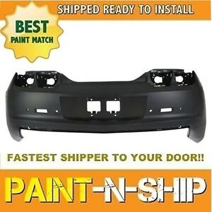 New 2010 2011 2012 2013 Chevy Camaro Rear Bumper W Snsr Hole Painted Gm1100847