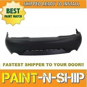 New 1999 2000 2001 2002 2003 2004 Mustang Gt Rear Bumper Painted Fo1100285