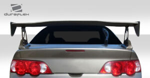 Duraflex Type M Wing Trunk Lid Spoiler 1 Piece For Rsx Acura 02 06 Ed_10522