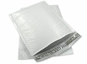 Size 0 6 5x10 Poly Airjacket Bubble Mailers Envelopes Cd Dvd 500 Qty Usa