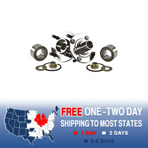 2 New Front Wheel Hub Bearing Assembly Chevy Geo Prizm Toyota Corolla Non Abs