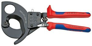 Knipex Tools 9531280 Ratchet Action 11 Cable Cutter Tool
