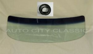 1954 Chevy Gmc Pickup Glass Windshield Green Shade Band And Gasket Fits Chrome