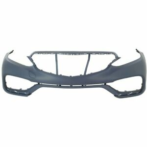 Front Bumper Cover For 2014 Mercedes Benz E63 Amg S Primed Plastic