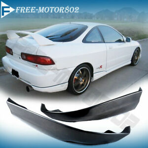 Fits 98 99 00 01 Acura Integra Hatchback Rear Bumper Lip Spoiler Pu Type R Style