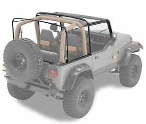 1988 1995 Jeep Wrangler Replacement Factory Soft Top Hardware Channel Kit