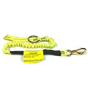 Buckingham 25y13 48a Tear Away Bungee Chainsaw Lanyard Arborist Yellow