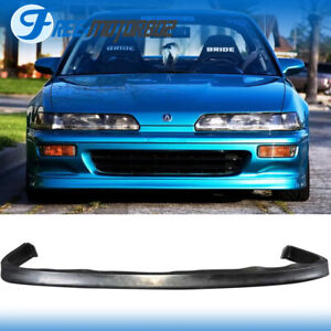 Fit 92 93 Acura Integra Sedan Hatchback Front Bumper Lip Spoiler Jdp Style
