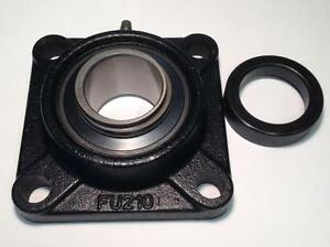 Fu210 31 4 bolt Flange Bearing 1 15 16 W Locking Collar New da4