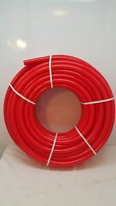 500 1 1 2 Non Oxygen Barrier Red Pex Tubing For Heating plumbing potable Water