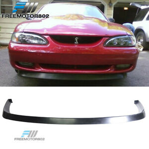 Fit 94 98 Ford Mustang V6 V8 Pu Front Bumper Lip Spoiler Gt Style