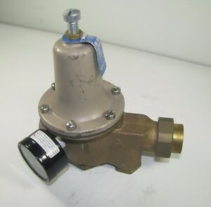 Water Pressure Reducing Valve 3 4 Watts Regulator U5b Z3 Series