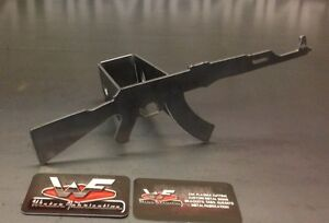 Ak47 Hitch Cover 1 8 Steel Tow Towing Reese Custom Gun Rifle 2nd Ammendment