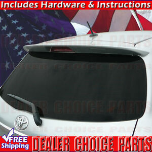 For 2012 2018 Toyota Yaris Hatchback Factory Style Roof Spoiler Wing Unpainted