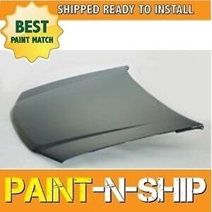 fits 2004 2005 2006 2007 2008 2009 2010 2011 2012 Chevy Colorado Hood Painted