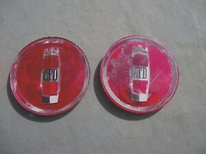 1970 80 S Wheel Cover Center Inserts Emblems Used Parts Read Description