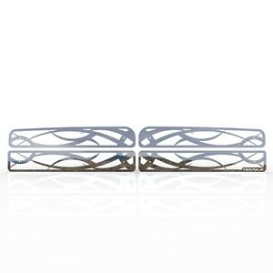 Grille Insert Guard Tribal Polished Stainless Fits 94 01 Dodge Ram 1500
