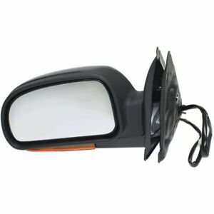 New Mirror Driver Left Side Olds Chevy Heated In housing Turn Signal Light Lh