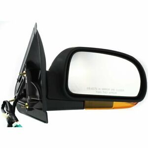 New Mirror Passenger Right Side Olds Chevy Heated In housing Turn Signal Light