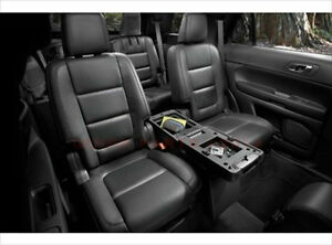 2011 2016 Ford Explorer Center Console 2nd Row Charcoal Black Db5z78045a36ad