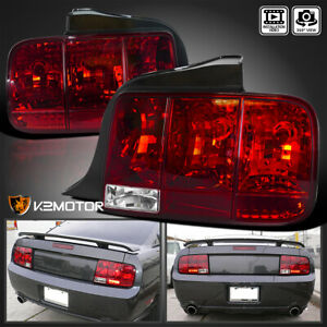 2005 2009 Mustang Sequential Turn Signal Tail Light Brake Lamp Red