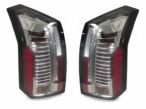 Depo Clear Chrome Light Bar Led Tail Lights For 2003 2007 Cadillac Cts Cts v