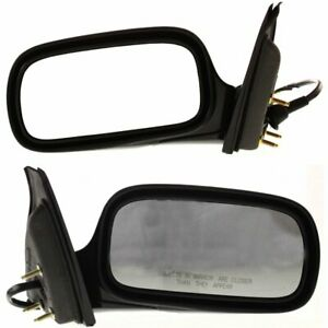 Power Mirror For 2006 2007 Buick Lucerne Left And Right Manual Fold With Memory